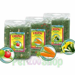 Chipsi Seno Sunshine Plus za glodare