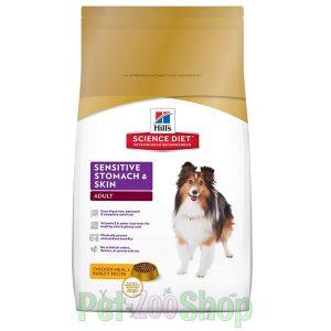Hills hrana za osetljive pse sensitive stomach and skin