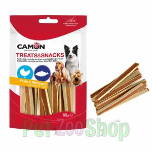 Camon: Poslastica za pse Piletina i Riba, 80 gr