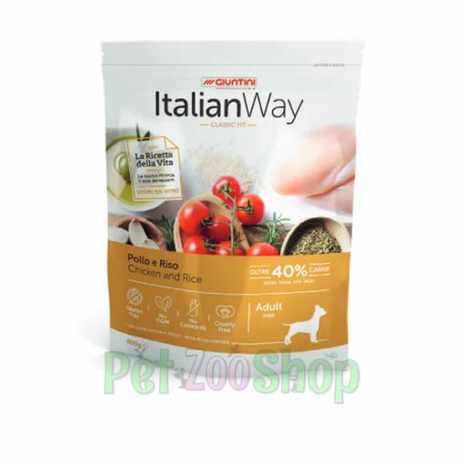 Italian Way Adult Piletina i Pirinač Mini