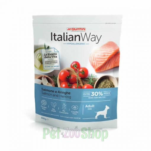 Italian Way losos i haringa mini