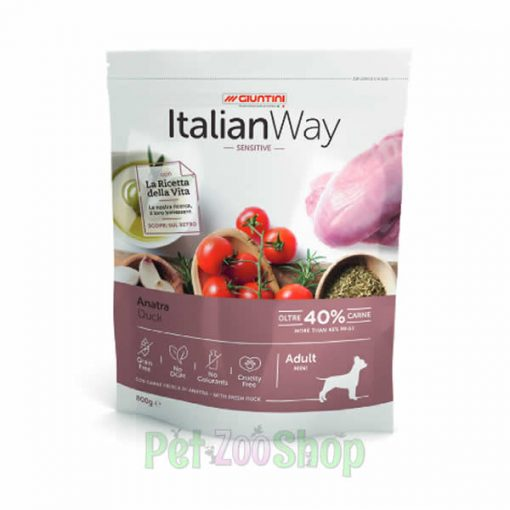 Italian Way hrana za male pse sensitive