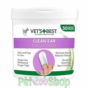 Uši psa su veoma osetljive i zato moraju da se čiste veoma pažljivo. Ove navlake su veoma nežne i ne iritiraju uši