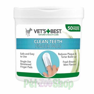 Vets Best navlake za prst za dentalnu higijenu pasa